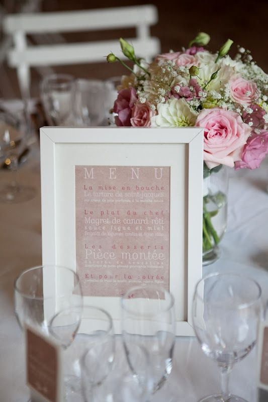 Decoration De Table De Mariage Chic