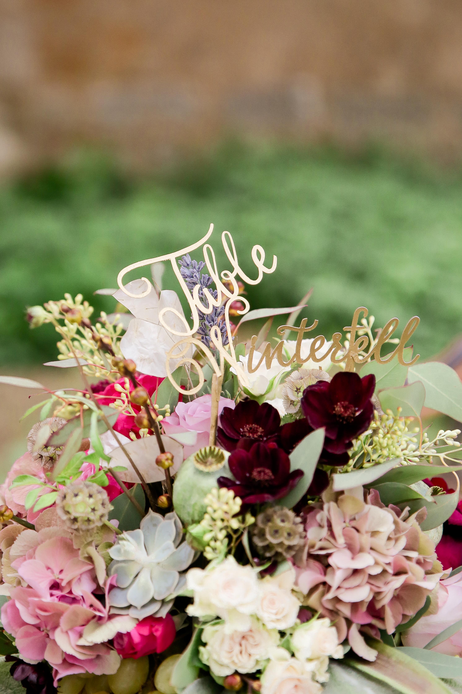 nom de table mariage