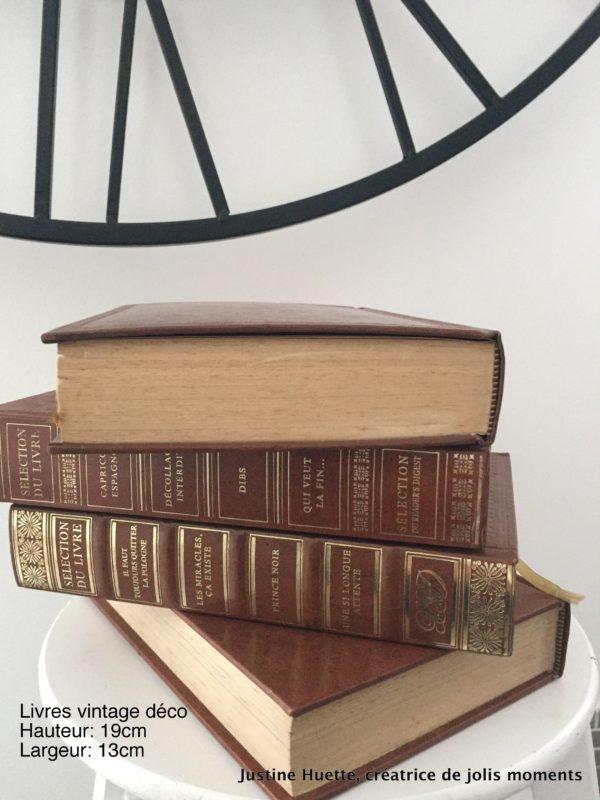 Location livres déco vintage   Décoration de mariage   Justine Huette