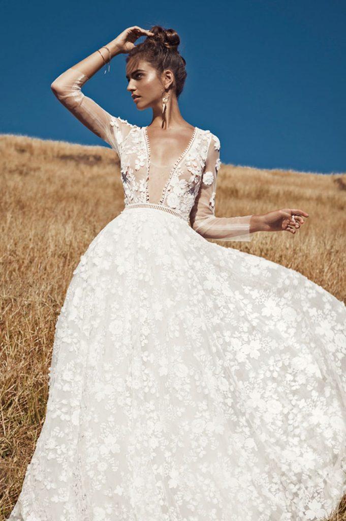 tendance robe de mariée 2019