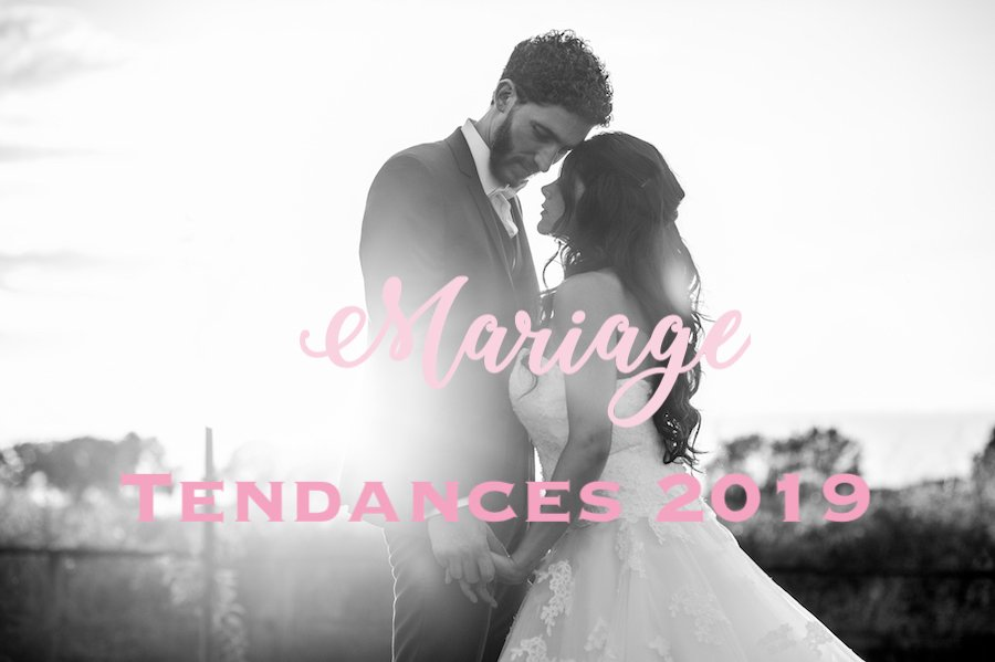 tendances mariage 2019