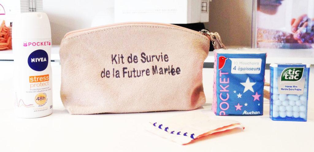 kit de survie spécial mariage