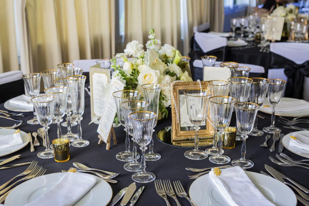 décoration de mariage gatsby