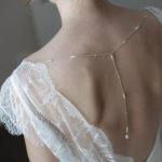 accessoire mariée bijoux de dos