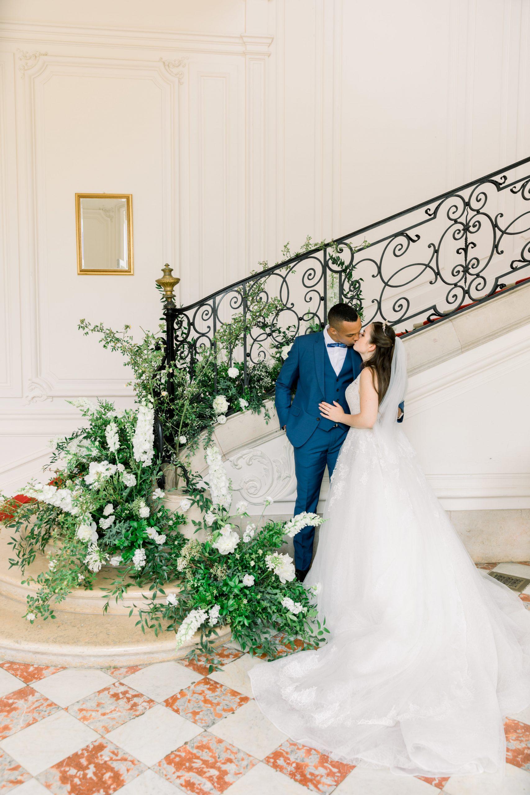 Chateau de Dangu - Justine Huette Wedding planner haut de gamme Paris/Île-de-France